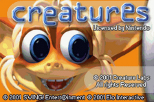 Creatures title screenshot