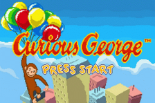 Curious George title screenshot