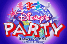 Disney's Party title screenshot