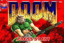 Doom title screenshot