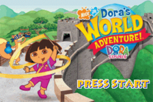 Dora the Explorer - Dora's World Adventure! title screenshot
