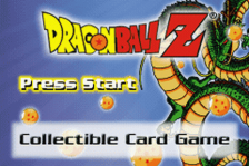 Dragon Ball Z - Collectible Card Game title screenshot