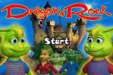 Dragon's Rock title screenshot