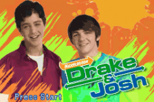 Drake & Josh title screenshot