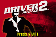 Driver 2 Advance title screenshot