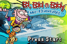 Ed, Edd n Eddy - The Mis-Edventures title screenshot