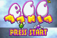 Egg Mania title screenshot