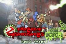 Extreme Ghostbusters - Code Ecto-1 title screenshot