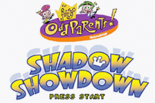 Fairly OddParents!, The - Shadow Showdown title screenshot