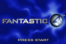 Fantastic 4 title screenshot