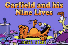Garfield and His Nine Lives title screenshot