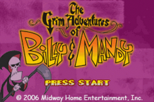Grim Adventures of Billy & Mandy, The title screenshot
