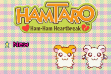 Hamtaro - Ham-Ham Heartbreak title screenshot