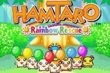 Hamtaro - Rainbow Rescue title screenshot