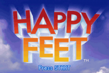 Happy Feet title screenshot