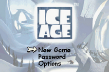 Ice Age title screenshot