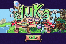Juka and the Monophonic Menace title screenshot