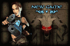 Lara Croft Tomb Raider - The Prophecy title screenshot