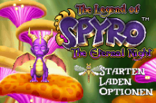 Legend of Spyro, The - The Eternal Night title screenshot