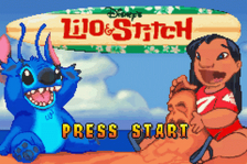 Lilo & Stitch title screenshot