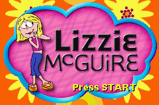 Lizzie McGuire - On the Go! title screenshot