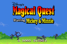 Magical Quest Starring Mickey & Minnie title screenshot
