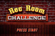 Majesco's Rec Room Challenge title screenshot