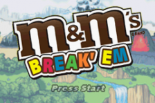 M&M's - Break 'em title screenshot