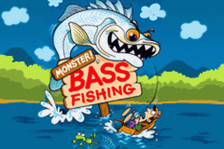 Monster! Bass Fishing title screenshot
