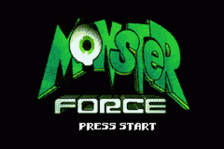 Monster Force title screenshot