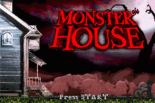 Monster House title screenshot