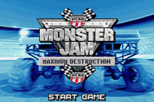 Monster Jam - Maximum Destruction title screenshot