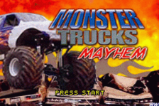 Monster Trucks Mayhem title screenshot