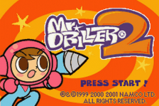 Mr. Driller 2 title screenshot