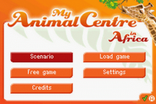 My Animal Centre in Africa title screenshot
