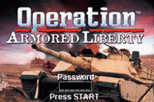 Operation Armored Liberty title screenshot