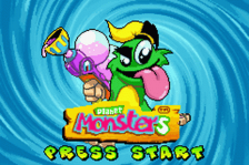 Planet Monsters title screenshot