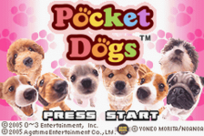 Pocket Dogs title screenshot