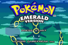 Pokemon - Emerald Version title screenshot