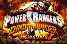 Power Rangers - Dino Thunder title screenshot