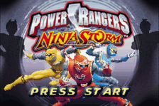 Power Rangers - Ninja Storm title screenshot