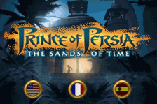 Prince of Persia - The Sands of Time title screenshot
