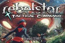 Rebelstar - Tactical Command title screenshot