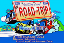 Road Trip - Shifting Gears title screenshot