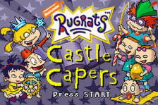Rugrats - Castle Capers title screenshot