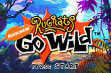 Rugrats - Go Wild title screenshot