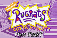 Rugrats - I Gotta Go Party title screenshot