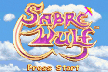 Sabre Wulf title screenshot