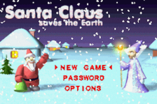 Santa Claus Saves the Earth title screenshot