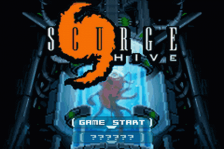 Scurge - Hive title screenshot